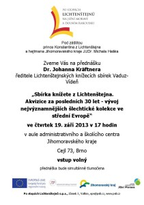 20130919 pozvánka Dr. Johann Kräftner, A5__def